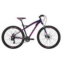 """Велосипед 27,5"""" Pride Roxy 7.2 рама - 18"""" тёмно-синий/малиновый/мятный 2017"""