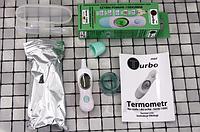 Автоматический лазерный бесконтактный термометр (для детей и взрослых TURBO