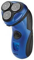 Электробритва AEG HR 5655  синяя и серая