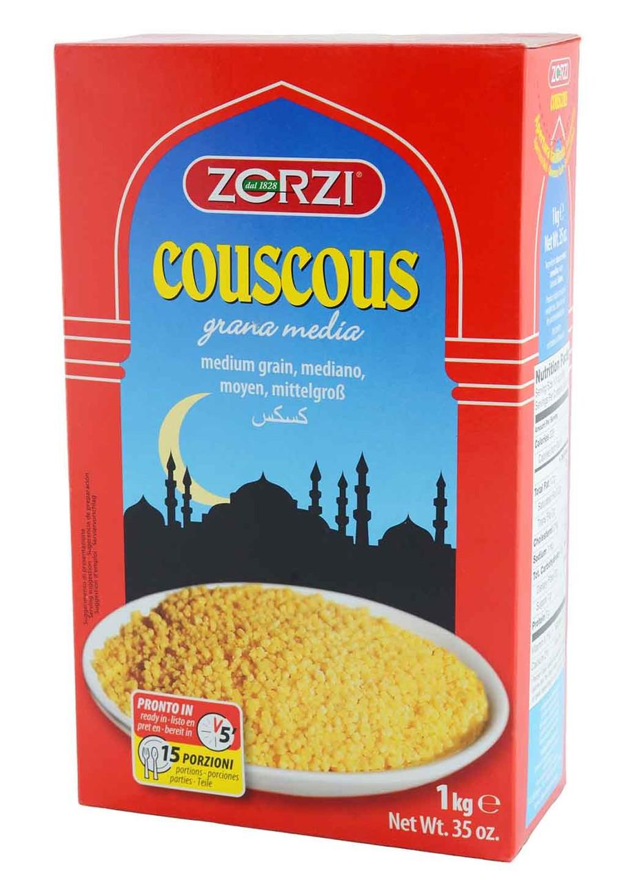 Кускус Zorzi CousCous Grana Media, 1 кг.