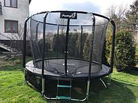 Батут JUMPI 10 FT с сеткой и лесенкой 312 см