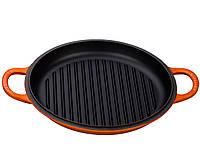 Круглая сковорода - гриль Le Creuset Round Deep Grill, 30 см.