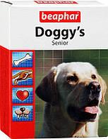 Doggy's Senior лакомство для поддержания здоровья собак старше 7 лет Beaphar