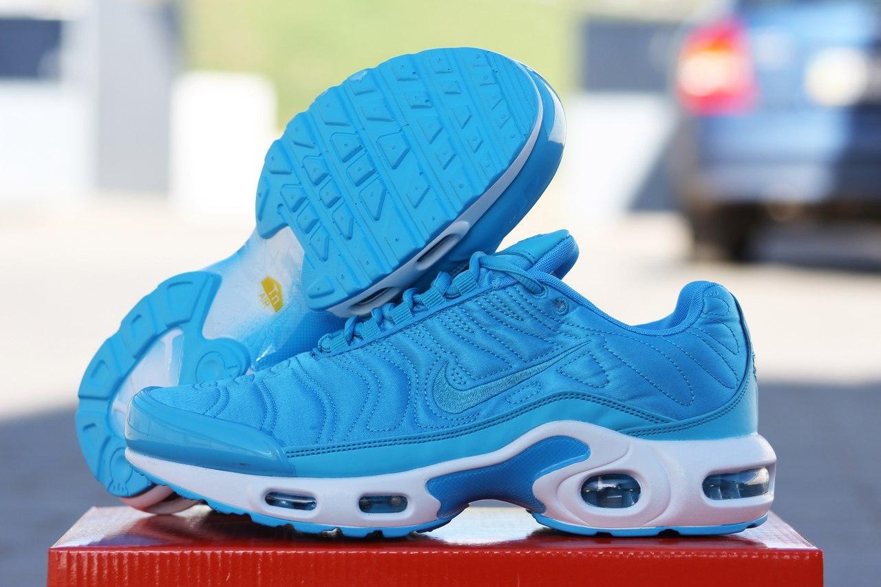 Кроссовки Nike air max 95 голубые,текстиль