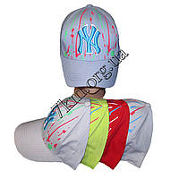 """Кепка детская для мальчиков """"Нью Йорк-краска"""" 54 р. хлопок Вьетнам Оптом"""