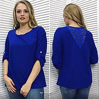 Блузка с гипюром на спине