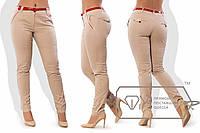 Батальные брюки с поясом
