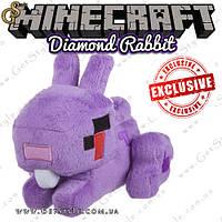 """Діамантовий кролик Minecraft - """"Diamond Rabbit"""" - 16 х 14 см, фото 1"""