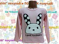 Детская футболка  с длинным рукавом для девочки