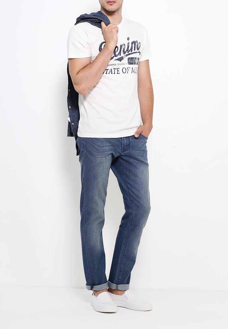 Мужские прямые джинсы Rick от бренда Solid  в размере W29/L30