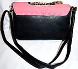 Женские клатчи и сумочки на плечо (ЧЕРНЫЙ), фото 2