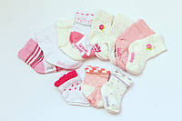 Трикотажные носки для новорожденных 0-1 мес. Турция