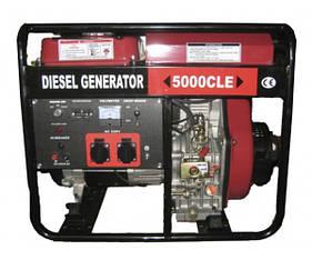 Дизельный генератор Weima WM5000CLE (5квт)