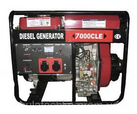 Дизельный генератор Weima WM7000CLE (7квт)