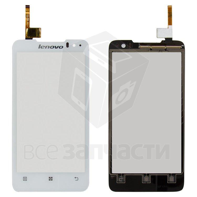 Сенсорный экран для мобильного телефона Lenovo P770, белый - parts4tablets в Харькове