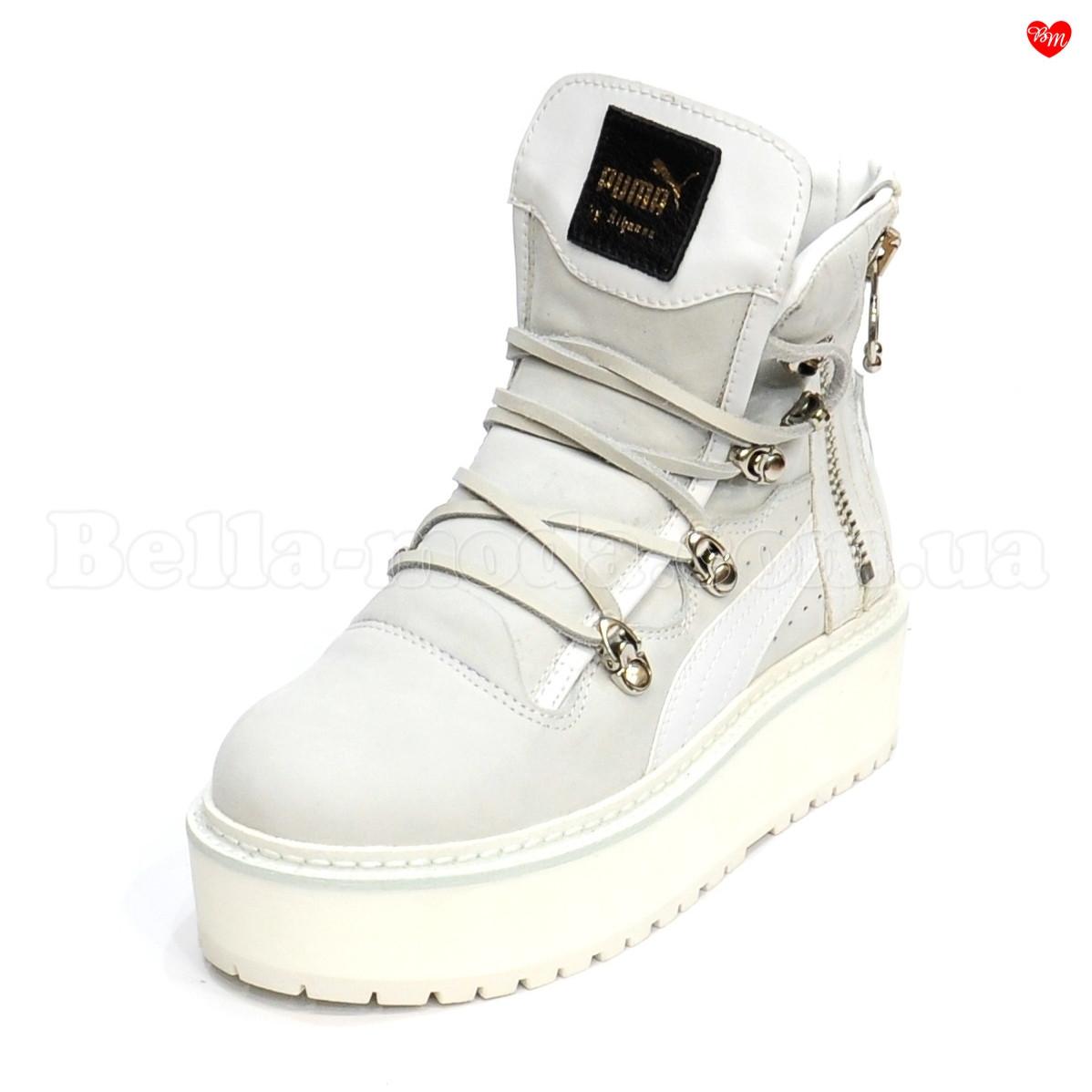 Купить Женские замшевые ботинки Puma Fenty в розницу от интернет ... 35ef1ddab2a7a
