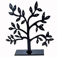 Подставка для Сережек, Оргстекло, Цвет: Черный, Размер: Высота 18.5см, Толщина 0.2см, (УТ100006249)