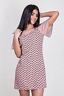 Красивое короткое платье