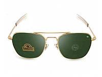 Солнцезащитные очки Ao Original Pilot Green Gold. Отличное качество. Стильный дизайн. Практичные. Код: КДН1655
