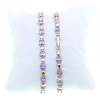 Изысканные вечерние браслеты для женщин с разноцветными кристаллами