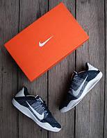Мужские кроссовки Nike Cobe 🔥 (Найк Кобе) NAVY-White