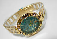 Женские часы  GIVENCHY - Antic - цвет золото с голубым циферблатом