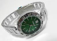 Женские часы  GIVENCHY - Antic - цвет серебро с зеленым