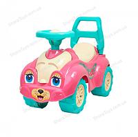 Детский автомобиль для прогулок (толокар), котенок