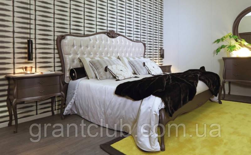 Італійська класична ліжко з натурального дерева Valpolicella фабрика Giorgio Casa