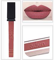 "Aden Liquid Lipstick помада стойкая Ottawa Garnet "" Оттава Гранат "" (с шиммером) № 18"
