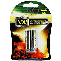 Аккумулятор UFO PHOTO AAA 1000mAh для камеры фотоаппарата аккумуляторы батарейки питание