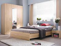 Комплект в спальню Libera L14-LIBERA-BUT Black Red White