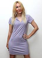 Платье женское модное в клетку арт.145, фото 1