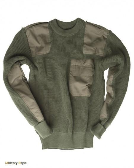 Пуловер BW акриловый (Olive)