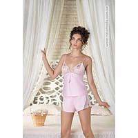 2057 Женская пижама с шортиками и халатом Nadja фирмы Komilfo
