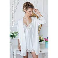 2092/1 Ночная сорочка с халатом Paris фирмы Komilfo
