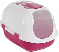 Moderna Mega Comfy Cat закрытый туалет для котов, розовый