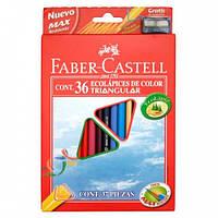 Цветные карандаши 36цветов+точилка.арт.120536