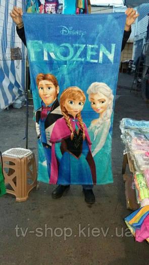 Полотенце пляжное Frozen