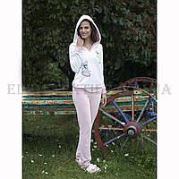 Домашний костюм женский велюр флис Hays 5120, Кремовый