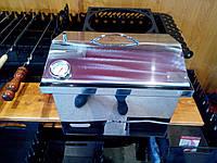 Коптильня из нержавейки с термометром (400х300х310)