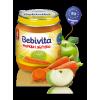 Фруктовое-овощное пюре Bebivita морковь с яблоком 125 грамм