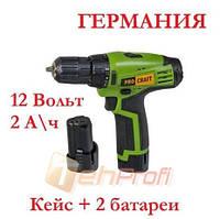 Шуруповёрт аккумуляторный Procraft PA-12/2 Li