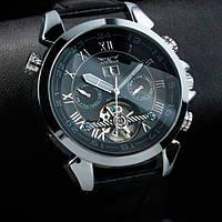 Jaragar мужские механические часы  Turboulion Silver