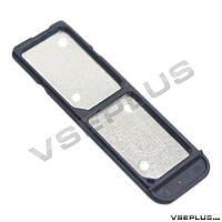 Держатель SIM карты Sony F3116 Xperia XA Dual, черный