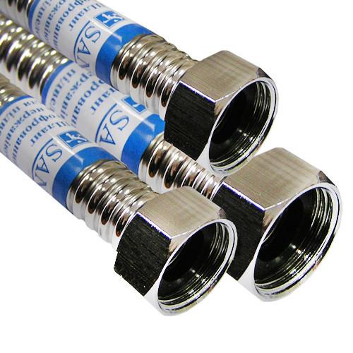 Шланг для воды из нержавеющей стали Santan 40 см, фото 1