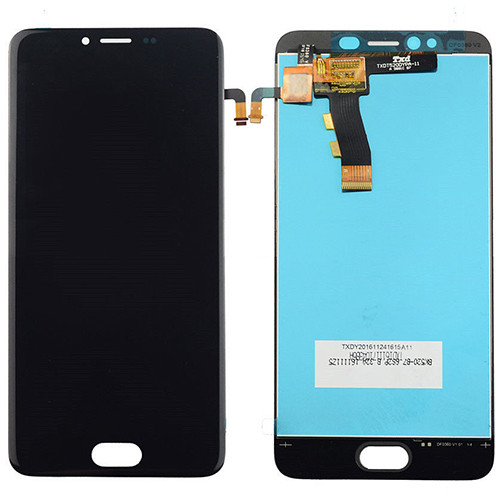 Дисплей (LCD) Meizu M5/ M5 mini с сенсором чёрный