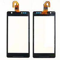 Сенсор (Touch screen) Sony C5502 M36h Xperia ZR/ C5503 черный оригинал
