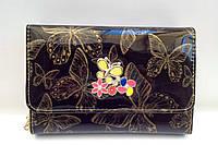 Сумка-клатч детская подростковая с ремешком-цепочкой через плечо Бабочки