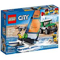 LEGO  City Внедорожник с прицепом для катамарана (60149)